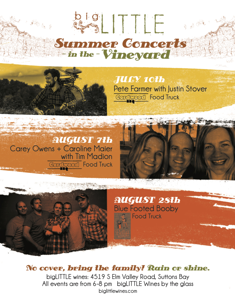 bigLITTLE Summer Concerts Poster Small